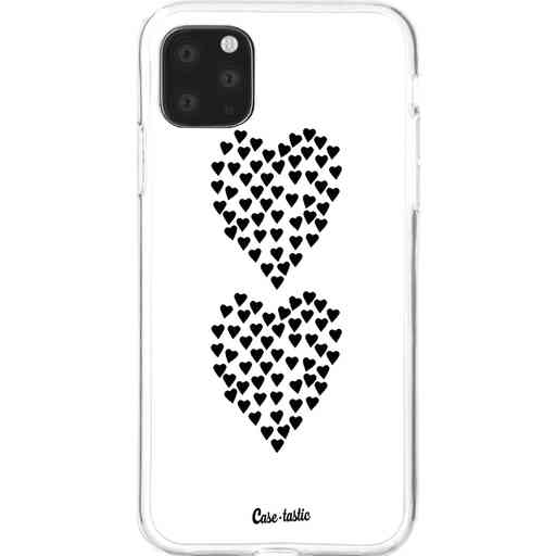 Casetastic Softcover Apple iPhone 11 Pro Max - Hearts Heart 2 White