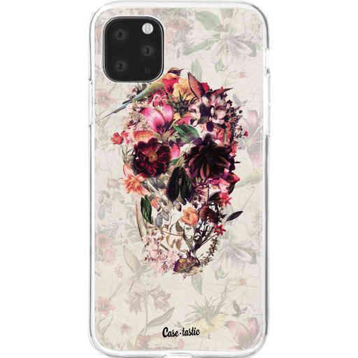 Casetastic Softcover Apple iPhone 11 Pro Max - Flower Skull