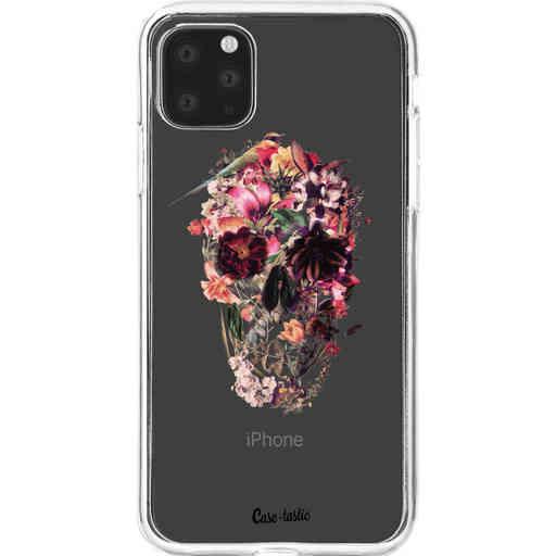 Casetastic Softcover Apple iPhone 11 Pro Max - Transparent Skull