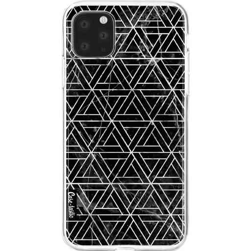Casetastic Softcover Apple iPhone 11 Pro Max - Abstract Marble Triangles