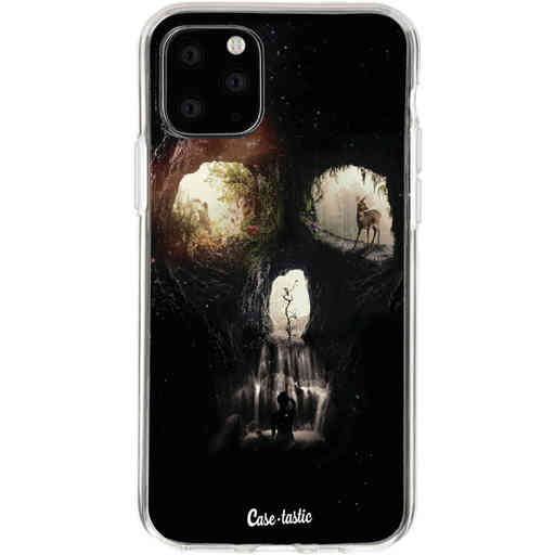 Casetastic Softcover Apple iPhone 11 Pro - Cave Skull
