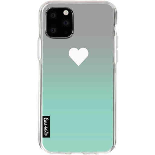 Casetastic Softcover Apple iPhone 11 Pro - Tiffany Heart Fade