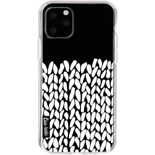 Casetastic Softcover Apple iPhone 11 Pro - Half Knit Black