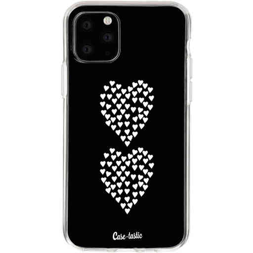 Casetastic Softcover Apple iPhone 11 Pro - Hearts Heart 2 Black