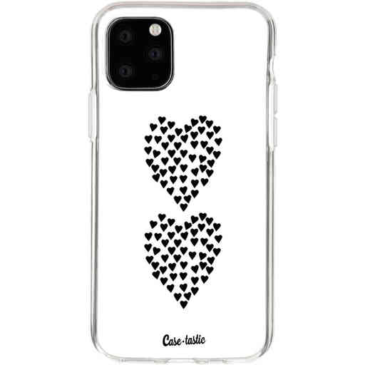 Casetastic Softcover Apple iPhone 11 Pro - Hearts Heart 2 White
