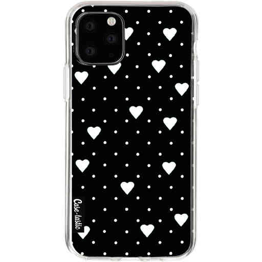 Casetastic Softcover Apple iPhone 11 Pro - Pin Point Hearts Black