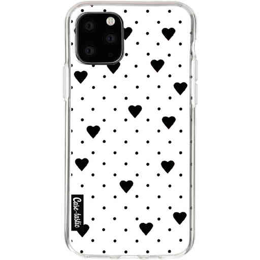 Casetastic Softcover Apple iPhone 11 Pro - Pin Point Hearts White