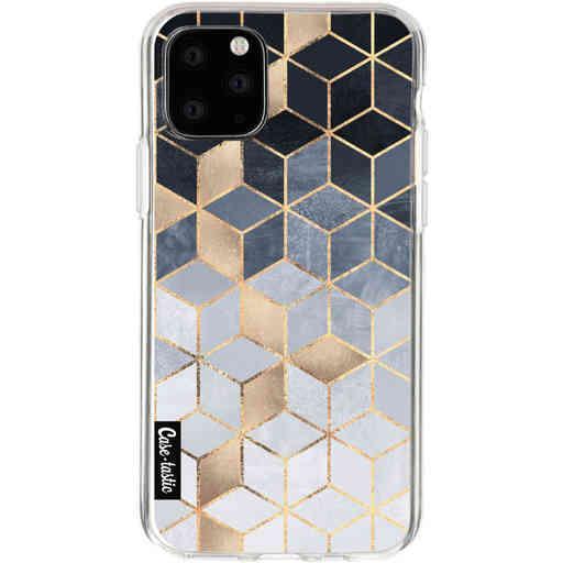 Casetastic Softcover Apple iPhone 11 Pro - Soft Blue Gradient Cubes