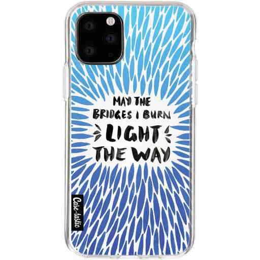 Casetastic Softcover Apple iPhone 11 Pro - Blue Bridges Burn Burst Artprint