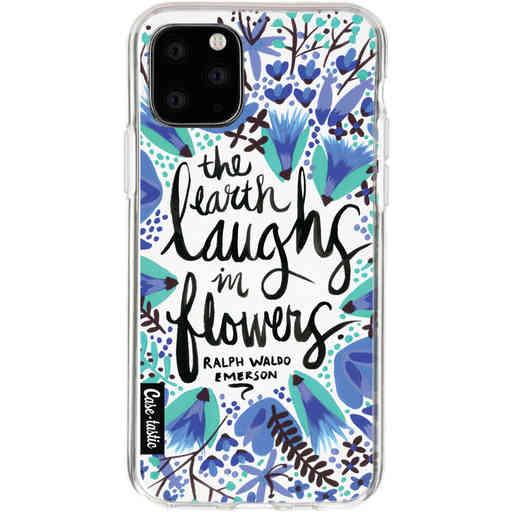 Casetastic Softcover Apple iPhone 11 Pro - Laughs Flowers BlueBlack