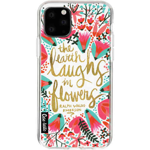 Casetastic Softcover Apple iPhone 11 Pro - Laughs Flowers Pink