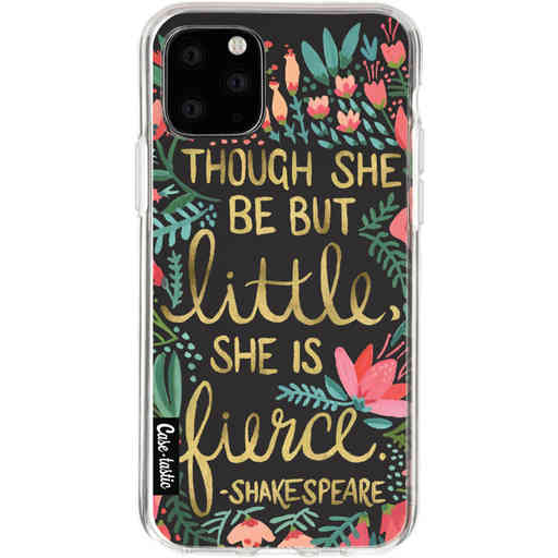 Casetastic Softcover Apple iPhone 11 Pro - Little Fierce Charcoal
