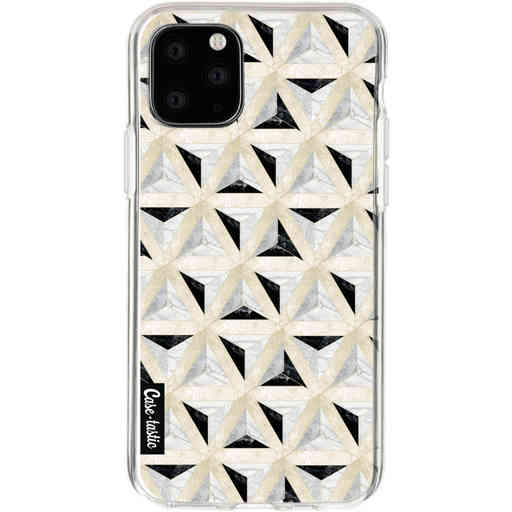 Casetastic Softcover Apple iPhone 11 Pro - Marble Triangle Blocks