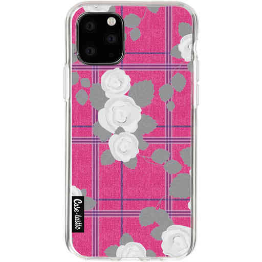 Casetastic Softcover Apple iPhone 11 Pro - Flower Tartan Pink