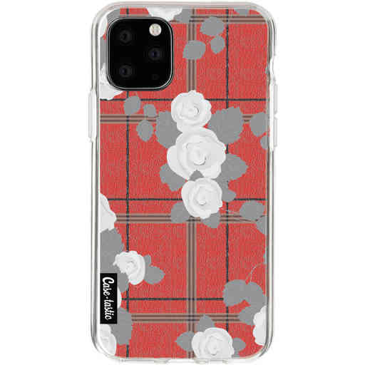 Casetastic Softcover Apple iPhone 11 Pro - Flower Tartan Red