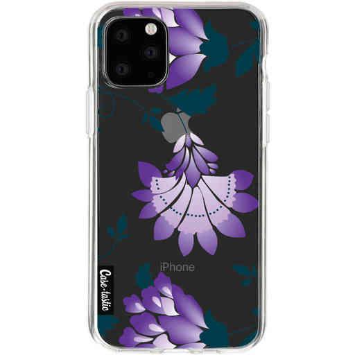 Casetastic Softcover Apple iPhone 11 Pro - Purple Dahlia Flower
