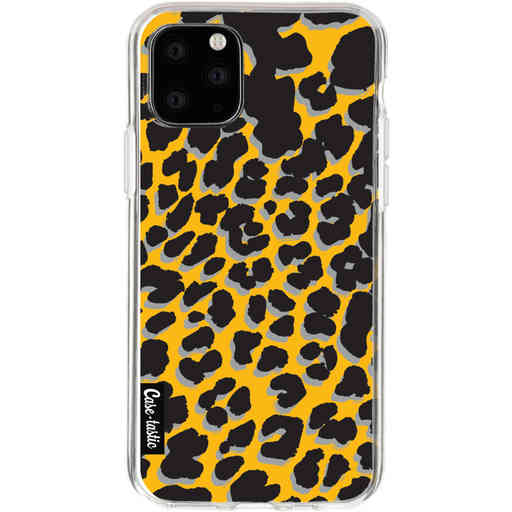 Casetastic Softcover Apple iPhone 11 Pro - Leopard Print Yellow