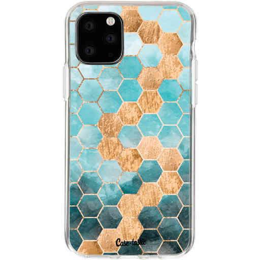 Casetastic Softcover Apple iPhone 11 Pro - Honeycomb Art Blue