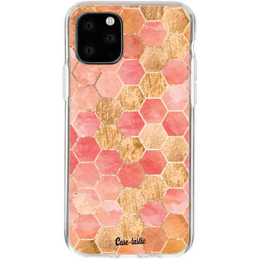 Casetastic Softcover Apple iPhone 11 Pro - Honeycomb Art Coral