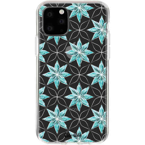 Casetastic Softcover Apple iPhone 11 Pro - Statement Flowers Blue