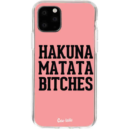 Casetastic Softcover Apple iPhone 11 Pro - Hakuna Matata Bitches