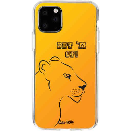Casetastic Softcover Apple iPhone 11 Pro - Oranje Leeuwinnen,  zet 'm op!