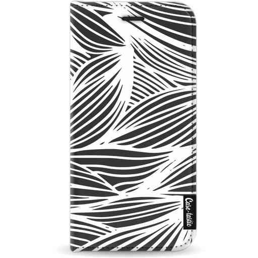 Casetastic Wallet Case Black Apple iPhone 11 Pro - Wavy Outlines