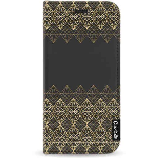 Casetastic Wallet Case Black Apple iPhone 11 Pro - Golden Diamonds