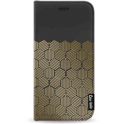 Casetastic Wallet Case Black Apple iPhone 11 Pro - Golden Hexagons