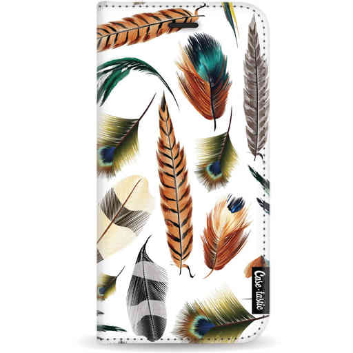 Casetastic Wallet Case White Apple iPhone 11 Pro - Feathers Multi