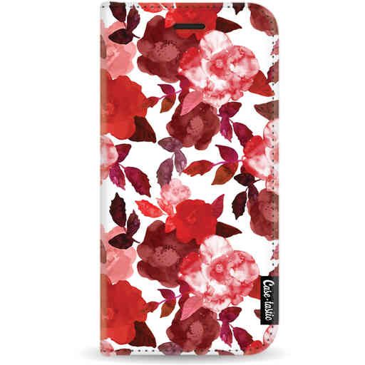 Casetastic Wallet Case White Apple iPhone 11 Pro - Royal Flowers Red