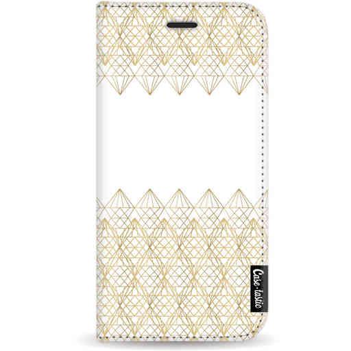 Casetastic Wallet Case White Apple iPhone 11 Pro - Golden Diamonds