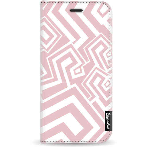 Casetastic Wallet Case White Apple iPhone 11 Pro - Abstract Pink Wave