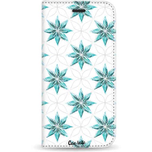 Casetastic Wallet Case White Apple iPhone 11 Pro - Statement Flowers Blue