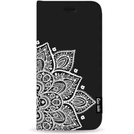 Casetastic Wallet Case Black Apple iPhone 11 Pro Max - Floral Mandala White