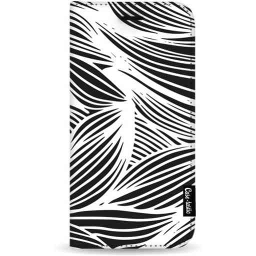 Casetastic Wallet Case Black Apple iPhone 11 Pro Max - Wavy Outlines