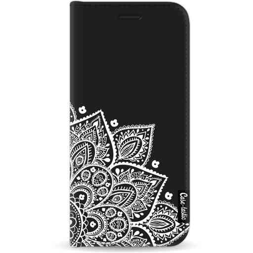 Casetastic Wallet Case Black Apple iPhone 11 - Floral Mandala White