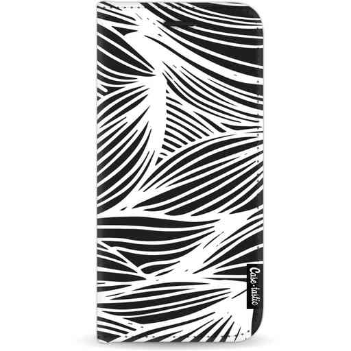 Casetastic Wallet Case Black Apple iPhone 11 - Wavy Outlines