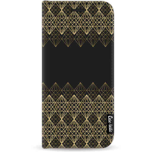 Casetastic Wallet Case Black Apple iPhone 11 - Golden Diamonds