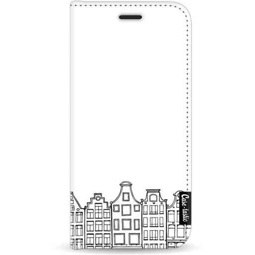 Casetastic Wallet Case White Apple iPhone 11 - Amsterdam Canal Houses
