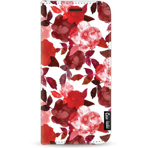 Casetastic Wallet Case White Apple iPhone 11 - Royal Flowers Red