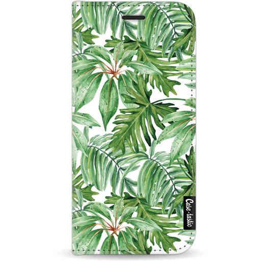 Casetastic Wallet Case White Apple iPhone 11 - Transparent Leaves