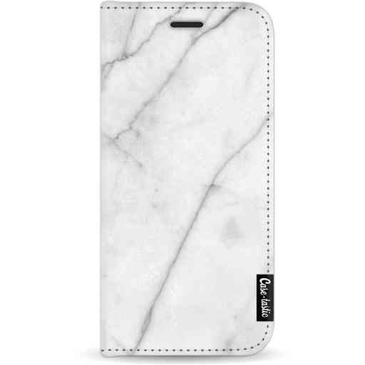 Casetastic Wallet Case White Apple iPhone 11 - White Marble