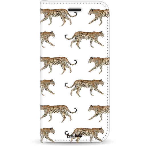 Casetastic Wallet Case White Apple iPhone 11 - Hunting Leopard