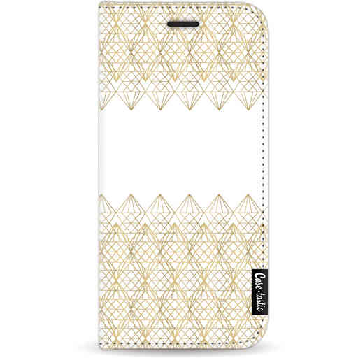 Casetastic Wallet Case White Apple iPhone 11 - Golden Diamonds
