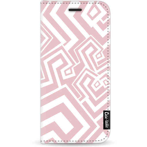 Casetastic Wallet Case White Apple iPhone 11 - Abstract Pink Wave