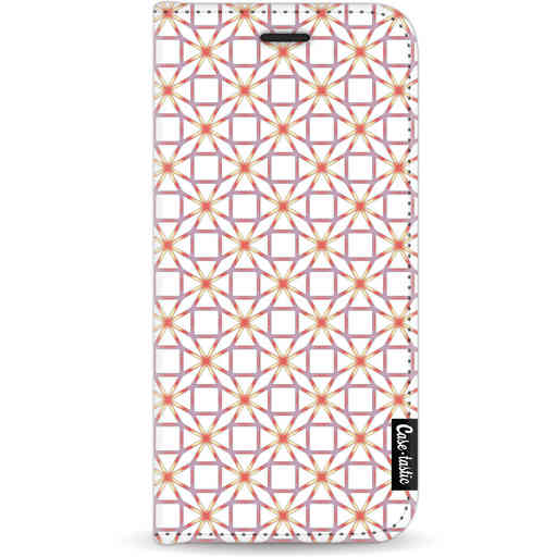 Casetastic Wallet Case White Apple iPhone 11 - Geometric Lines Sweet