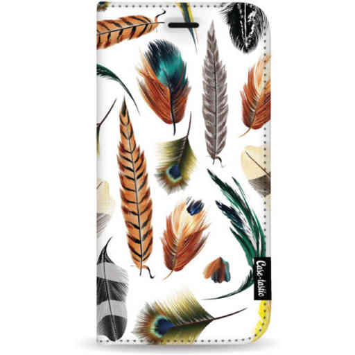 Casetastic Wallet Case White Apple iPhone 11 Pro Max - Feathers Multi
