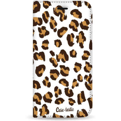 Casetastic Wallet Case White Apple iPhone 11 Pro Max - Leopard Print
