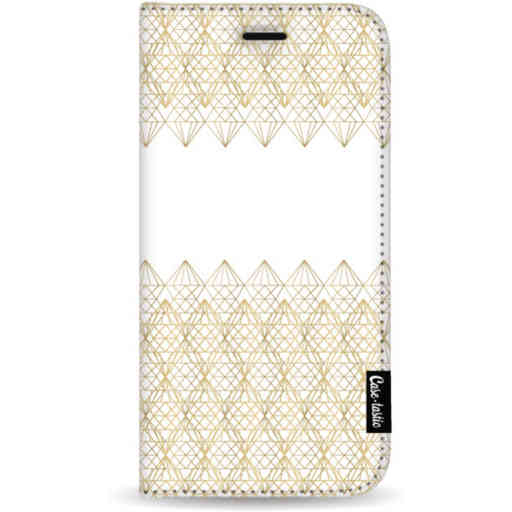 Casetastic Wallet Case White Apple iPhone 11 Pro Max - Golden Diamonds
